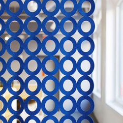 Polka | 90 Light Hanging Panel | Space dividers | FilzFelt