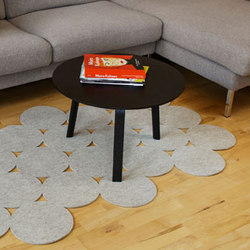 Polka | 120 Floor Mat | Formatteppiche / Designerteppiche | FilzFelt