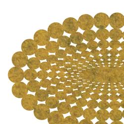 Polka | 360 Oval Floor Mat Medium | Rugs / Designer rugs | FilzFelt