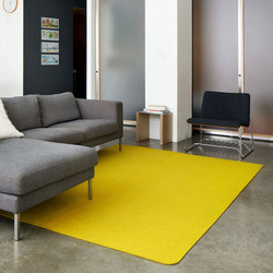 Rectangle | Floor Mat | Tappeti / Tappeti d'autore | FilzFelt