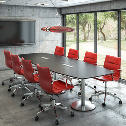 Amigo Conference Table | AV tables | Cube Design
