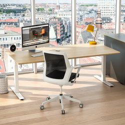 Flow Sit/Stand Desk | Scrivanie individuali | Cube Design