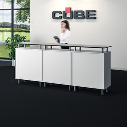 Information Desk | Mostradores | Cube Design