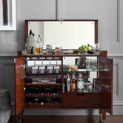 Nero Bar Cabinet | Muebles de bar | Williams-Sonoma, Inc. TO THE TRADE