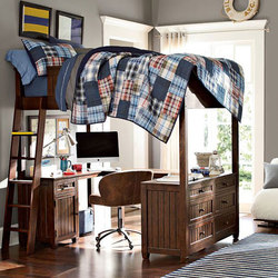 Beadboard Loft Bed | Single beds | Distributed by Williams-Sonoma, Inc. TO THE TRADE