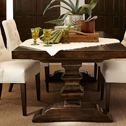 Banks Extended Dining Table | Dining tables | Distributed by Williams-Sonoma, Inc. TO THE TRADE