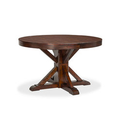Benchwright Extending Pedestal Dining Table | Dining tables | Williams-Sonoma, Inc. TO THE TRADE