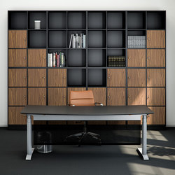 Quadro Storage | Office shelving systems | Cube Design