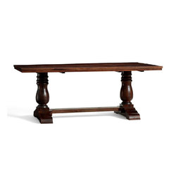 Bowry Reclaimed Wood Fixed Dining Table | Dining tables | Distributed by Williams-Sonoma, Inc. TO THE TRADE