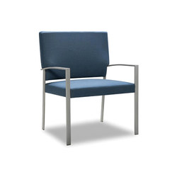 Steel Bariatric High Back Side Chair | Sillas para ancianos | Trinity Furniture