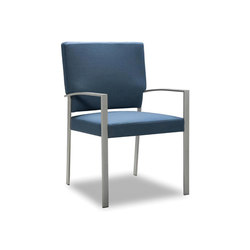 Steel High Back Side Chair | Sillas para ancianos | Trinity Furniture
