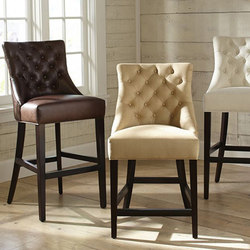 Hayes Tufted Barstools | Bar stools | Distributed by Williams-Sonoma, Inc. TO THE TRADE
