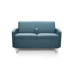 Facelift Serpentine Two Place Sofa | Elderly care sofas | Trinity Furniture