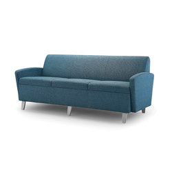Facelift Serpentine Three Place Sofa | Sofas | Trinity Furniture