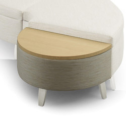 Facelift Serpentine Table Half Round | Side tables | Trinity Furniture