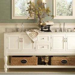 Newport Double Sink Console | Console tables | Distributed by Williams-Sonoma, Inc. TO THE TRADE