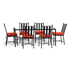 Pottery Barn: Redding Rectangular Dining Table & Dining Chair Set | Sièges de jardin | Williams-Sonoma, Inc. TO THE TRADE