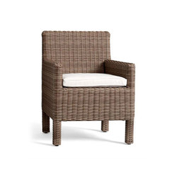Torrey All-Weather Wicker Dining Chair - Natural | Garden chairs | Distributed by Williams-Sonoma, Inc. TO THE TRADE