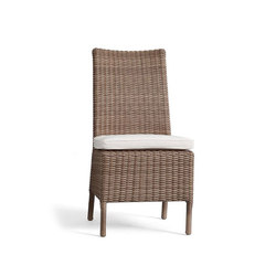 Torrey All-Weather Wicker Dining Chair - Natural | Gartenstühle | Distributed by Williams-Sonoma, Inc. TO THE TRADE