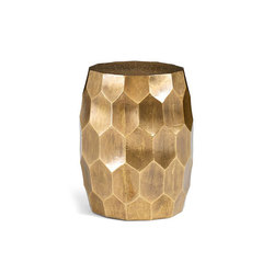 Vince Metal-Clad Accent Stool | Hocker | Distributed by Williams-Sonoma, Inc. TO THE TRADE