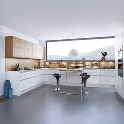 Classic-FS | Topos | Concrete-C | Fitted kitchens | Leicht Küchen AG