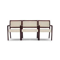 Facelift Replay Open Arm Bariatric Side Chair, Open Back | Sedie visitatori | Trinity Furniture
