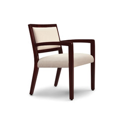 Facelift Replay Open Arm Side Chair, Open Back | Sièges visiteurs / d'appoint | Trinity Furniture