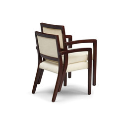 Facelift Replay Open Arm Stacking Side Chair, Open Back | Visitors chairs / Side chairs | Trinity Furniture