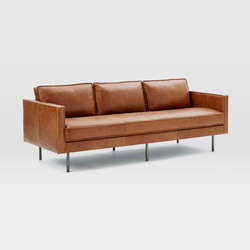 Axel Leather Sofa | Divani lounge | Distributed by Williams-Sonoma, Inc. TO THE TRADE