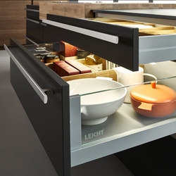 Zargensystem L3 | Organización cocina | Leicht Küchen AG