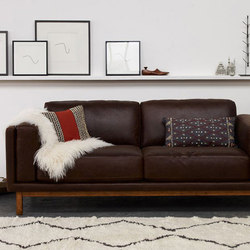 Dekalb Premium Leather Sofa | Canapés d'attente | Williams-Sonoma, Inc. TO THE TRADE
