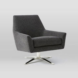 Lucas Swivel Base Chair Armchairs Distributed By Williams Sonoma Inc To