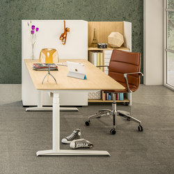 Quadro Sit/Stand Desk | Contract tables | Cube Design