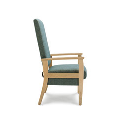 Facelift 3 Evolve High Back Glider Chair | Poltrone | Trinity Furniture