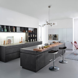 Tocco | Concrete-A | Fitted kitchens | Leicht Küchen AG