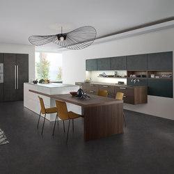 Topos | Concrete | Cuisines intégrées | Leicht Küchen AG