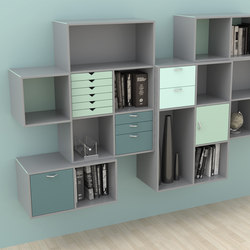 V Storage | Office shelving systems | Cube Design
