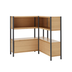 Cavetto CV90353S | CV35353H | CV90353EH incl. Drawer | Office shelving systems | Karl Andersson