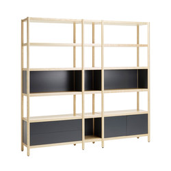 CV90355S | CV95355M | CV90355S incl. Door | Office shelving systems | Karl Andersson