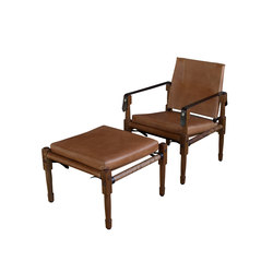 Chatwin Lounge | Lounge chairs with footstools | Richard Wrightman Design