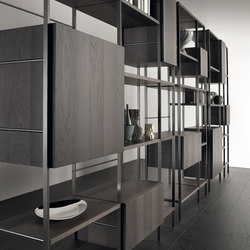 Outline | Shelving modules | Acerbis