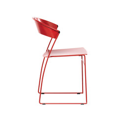 Juliette stackable chair | Sillas | Baleri Italia
