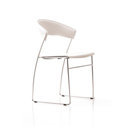Juliette stackable chair | Chaises polyvalentes | Baleri Italia by Hub Design