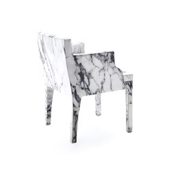Louis XV Goes To Sparta chair | Sièges visiteurs / d'appoint | Baleri Italia by Hub Design