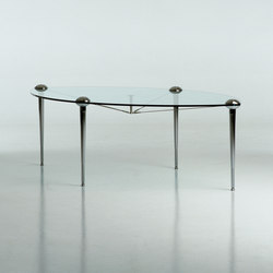 Ludwig elliptical table | Mesas comedor | Baleri Italia by Hub Design