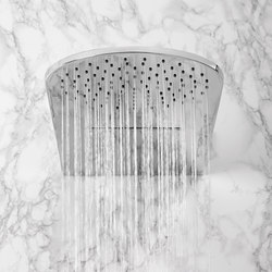Aqua-Sense - Double-Function ShowerHead - Wall Mtd.-Rain/WaterFall/ | Shower taps / mixers | Graff