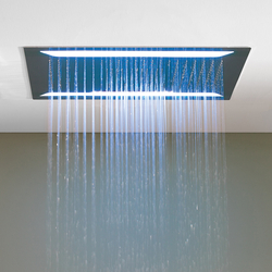 Aqua-Sense - Multifunction ShowerHead- Ceiling Mtd./Rain/LED Light/WaterFall/