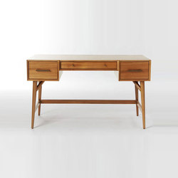 Mid-Century Desk - Acorn | Escritorios | Distributed by Williams-Sonoma, Inc. TO THE TRADE