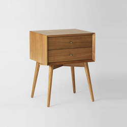 Mid-Century Nightstand - Acorn | Nachttische | Distributed by Williams-Sonoma, Inc. TO THE TRADE