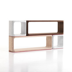 Platone sideboard | Office shelving systems | Baleri Italia by Hub Design